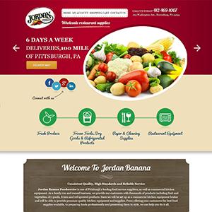 SRM Web Development Service Jordan Banana Company