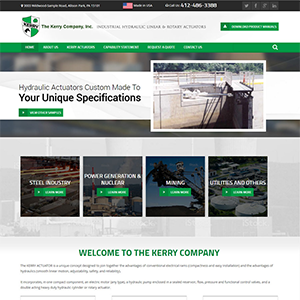 SRM Web Development Service The Kerry Company Inc.