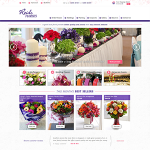 SRM Web Development Service Reids Florists
