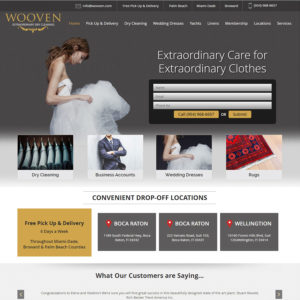 Wooven Dry Cleaning